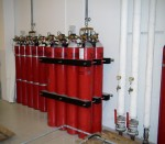 Fire equipment, CO2 station