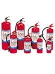 Fire equipment, Fire extinguishers