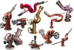 Fire equipment, Fire nozzle