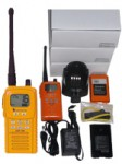 GMDSS and transceivers, VHF portable marine transceiver